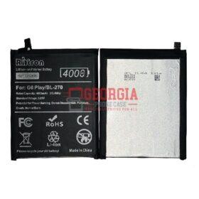3.85V 4000mAh Battery for Motorola Moto G6 Play XT1922(BL270) (High Quality - RHTRON)