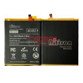 ZTE Blade Z Max Z982 Battery Li3940T44P8h937238 4080mAh (High Quality – RHTRON)