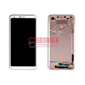 WHITE- LCD Display Touch Screen Digitizer Assembly For LG G6 H870 H871 H872 LS993 VS998