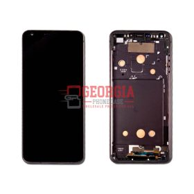 BLACK- LCD Display Touch Screen Digitizer Assembly with Frame For LG G6 H870 H871 H872 LS993 VS998