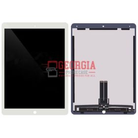 LCD Screen Display with Digitizer Touch Panel and Mother Board for iPad Pro (12.9 inches) 2nd Gen -White