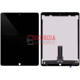 LCD Screen Display with Digitizer Touch Panel and Mother Board for iPad Pro (12.9 inches) 2nd Gen - Black