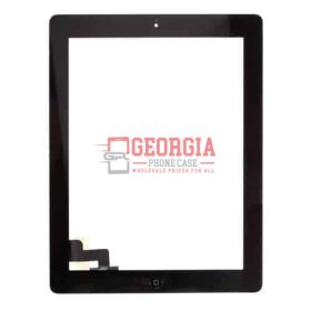 Touch Screen digitizer Assembly with Home Button for iPad 2 Black