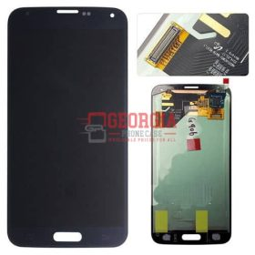 LCD Screen and Digitizer Touch Screen for Samsung Galaxy S5 G900 Saphire Blue (High Quality - Substitute Part)