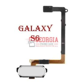 WHITE Samsung GALAXY S6 Home Button Sensor Flex Cable Black Substitute G920 All MODELS