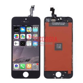 Substitute Black LCD Digitizer with Assembly for iPhone 5C (High Quality) (Substitute Part)