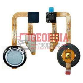 LG G6 Gray Home Button Fingerprint Sensor Power Button Flex Cable Black Substitute