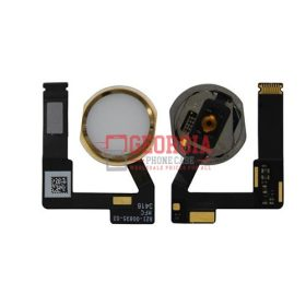 Home Button Connector with Flex Cable Ribbon for iPad Pro (12.9 inches) 2nd Gen - Gold