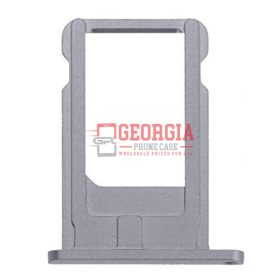 iPhone 6S Space Gray Sim Card Tray Slot Holder (High Quality - Substitute Part)