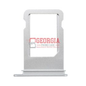 iPhone 7 4.7 inch Sim Card Holder Slot Tray Silver Substitute (High Quality - Substitute Part)