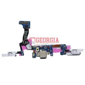 Micro USB Charging Port Menu Button Flex For Samsung Galaxy S7 Edge G935F (High Quality - Substitute Part)