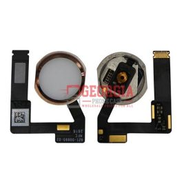 Home Button Connector with Flex Cable Ribbon for iPad Pro (12.9 inches) 2nd Gen - Rose Gold