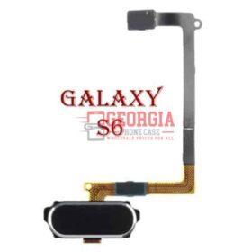 BLACK Samsung GALAXY S6 Home Button Sensor Flex Cable Black Substitute G920
