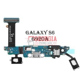 Charging Port Flex Cable with Earphone Jack and Sensor for Samsung Galaxy S6 G920A
