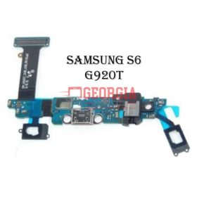 Charging Port Flex Cable with Earphone Jack and Sensor for Samsung Galaxy S6 G920T