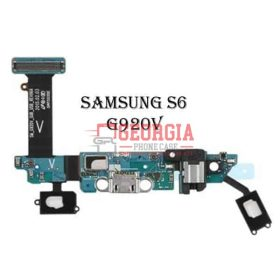Charging Port Flex Cable with Earphone Jack and Sensor for Samsung Galaxy S6 G920V