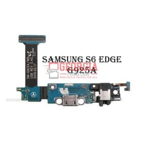 Headphone Jack Charging Charger Port Flex For Samsung Galaxy S6 Edge G925A (High Quality - Substitute Part)
