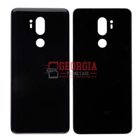 LG G7 ThinQ LM-G710 Black Back Cover Glass Battery Door