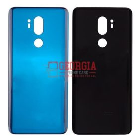 LG G7 ThinQ LM-G710 Blue Back Cover Glass Battery Door