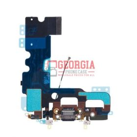 For iPhone 7 Plus 5.5 Black Charger Charging Dock Port Audio Jack Flex Cable (High Quality - Substitute Part)