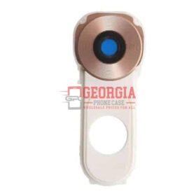 LG V10 Rear Gold Back Camera Glass Lens Cover + Frame Holder For H900 AT&T H961N H968