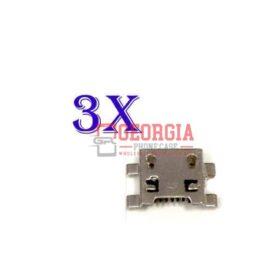 3 X New Micro USB Charging Sync Port Charger LG V10 H900 H901 H961N VS990 USA
