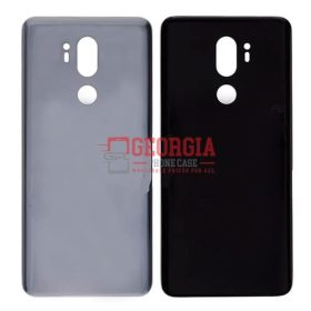 LG G7 ThinQ LM-G710 Silver Back Cover Glass Battery Door