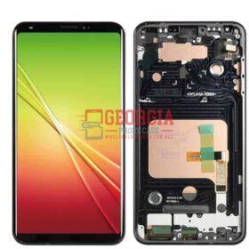 For LG V30+/V30 Plus BLACK H930DS US998 LS998U LCD Touch Screen Digitizer+Frame QC