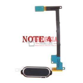 Black Home Key Button Flex Cable for Samsung Galaxy Note 4 N910A N910T N910V