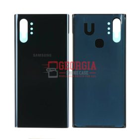 Aura Black Battery Cover Rear Back Glass Housing Door For Samsung Galaxy Note10