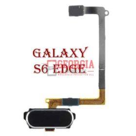 Samsung Galaxy S6 Edge Home Button Sensor Flex Cable Black Substitute G925 (High Quality - Substitute Part)
