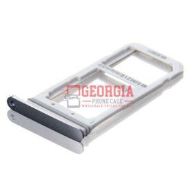Samsung Galaxy S7 Edge G935 Sim Card Holder Slot Micro SD Card Tray Black New Substitute (High Quality - Substitute Part)