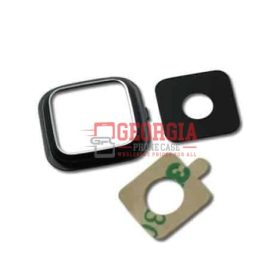 Rear Camera Glass Lens Cover for Samsung Galaxy Note 4 Black with Adhesives