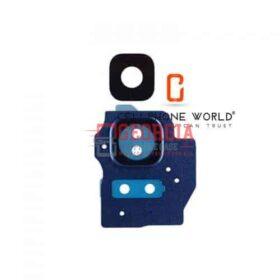 Samsung Galaxy S8 Plus G955 Blue Back Camera Lens and Bezel