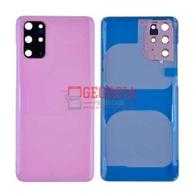 Back Cover with Camera Glass Lens and Adhesive Tape for Samsung Galaxy S20 Plus - Cloud Pink