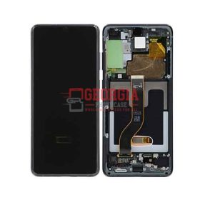 Lcd display with frame For Galaxy S20 Plus, Cosmic Black