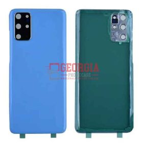 Back Cover with Camera Glass Lens and Adhesive Tape for Samsung Galaxy S20 Plus - Cloud Blue
