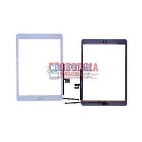 Touch Screen Digitizer With Home Button and Home Button Flex Cable for iPad 7 2019 (10.2 inches)(High Quality) - White