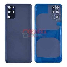 Back Cover with Camera Glass Lens and Adhesive Tape for Samsung Galaxy S20 Plus - Cosmic Gray