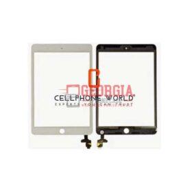 White Touch Screen Digitizer w/IC Felx + For iPad Mini 3 A1599 A1600(Super Quality)