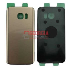 Substitute Back Battery Cover for Samsung Galaxy S7 Edge Gold (High Quality - Substitute Part)