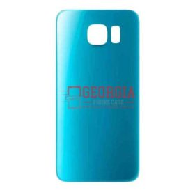 Battery Back Cover Housing Door for Samsung Galaxy S6 Blue Topaz
