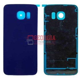 Battery Back Housing Cover Door for Samsung Galaxy S6 Sapphire Blue