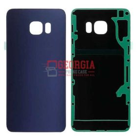 Back Housing Glass Cover for Samsung Galaxy S6 Edge PLUS G928 BLUE (High Quality - Substitute Part)