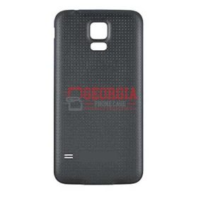 BLACK Battery Back Door Cover Case For SAMSUNG GALAXY S5 Substitute (High Quality - Substitute Part)