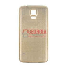 GOLD Battery Back Door Cover Case For SAMSUNG GALAXY S5 Substitute (High Quality - Substitute Part)