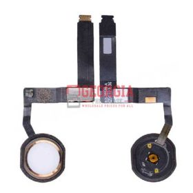 Home Button with Flex Cable Ribbon and Home Button Connector for iPad Pro (9.7inches) - Gold