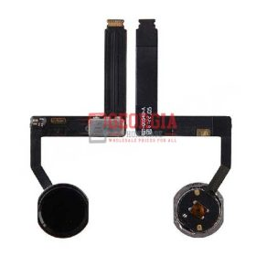 Home Button with Flex Cable Ribbon and Home Button Connector for iPad Pro (9.7inches) - Black