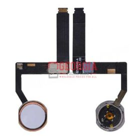 Home Button with Flex Cable Ribbon and Home Button Connector for iPad Pro (9.7inches) - Rose Gold