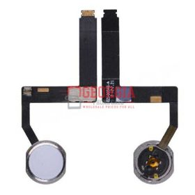 Home Button with Flex Cable Ribbon and Home Button Connector for iPad Pro (9.7inches) - White